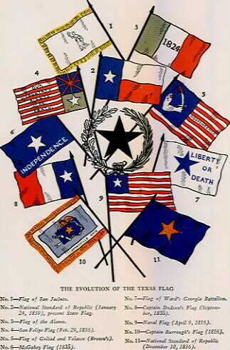 FLAGS of Texas During the Revolution